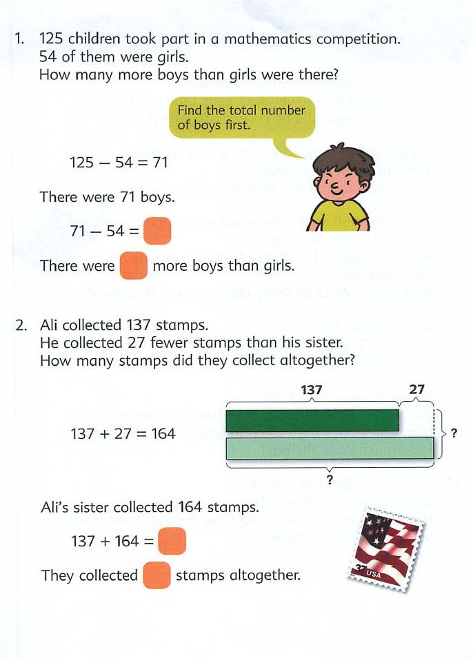 Word problem solving steps